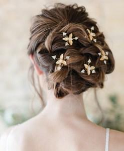 Comet Bridal Hairpin