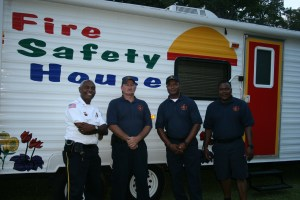 Kids have the opportunity to learn about fire safety at National Night Out.