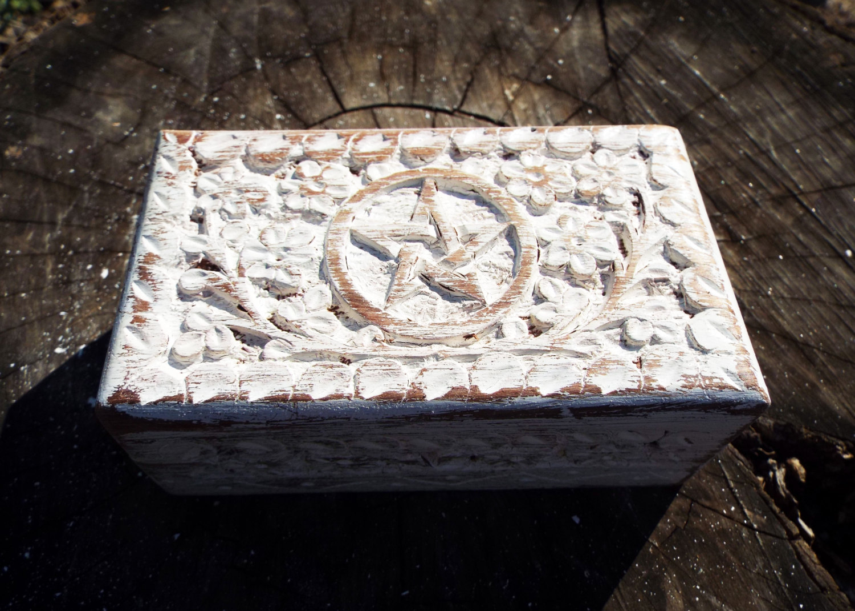 Box Wooden Pentagram