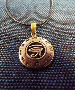 Eye of Horus Eye of Ra Pendant Third Eye Ancient Egyptian Symbol Magic Spiritual Protection