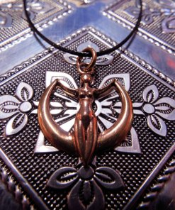 Pendant Bronze Jewelry Symbol Astra Godess Astraea Star Maiden Star Goddess Nature Greek Mythology Necklace Protection