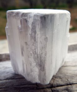 Selenite Gemstone Rough Stone Faceted Rock Natural Untouched Spiritual Healing Solid