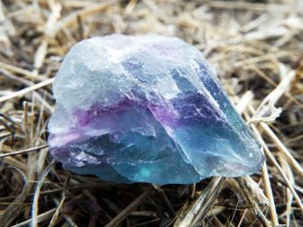 Fluorite Rough Gemstone Solid Faceted Rock Untouched Spiritual Healing