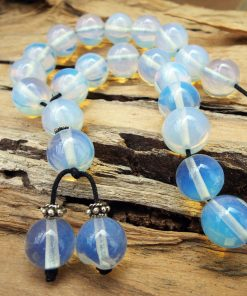Komboloi Greek Worry Beads Opalite Prayer Beads Rosary Beads Turkish Tasbih Handmade Gemstone