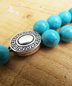 Komboloi Greek Worry Beads Turquoise Prayer Beads Rosary Beads Turkish Tasbih Handmade Gemstone