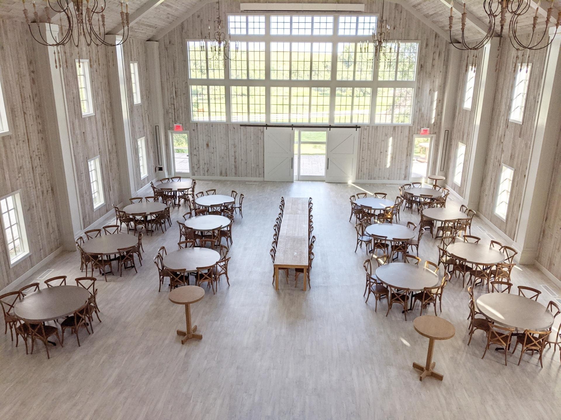 tables laurel ridge barn