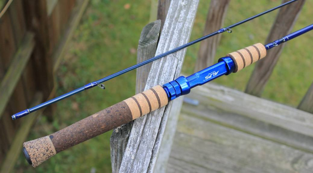 IF Fly Spin Trout Rod Conversion Laurel Ridge Rods Custom - Rods custom