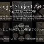 Zentangle® Student Art Show 2018