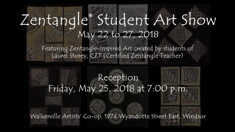 Zentangle® Student Art Show