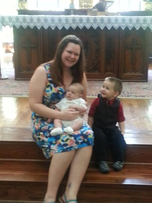 Auntie Anna with the boys