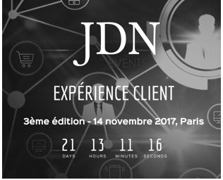 Conférence Expérience Client JDN – 14 novembre