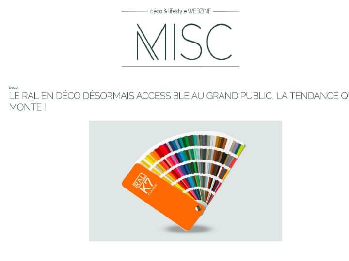 Misc webzine