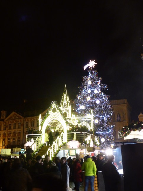 Old Town Prague Square Christmas