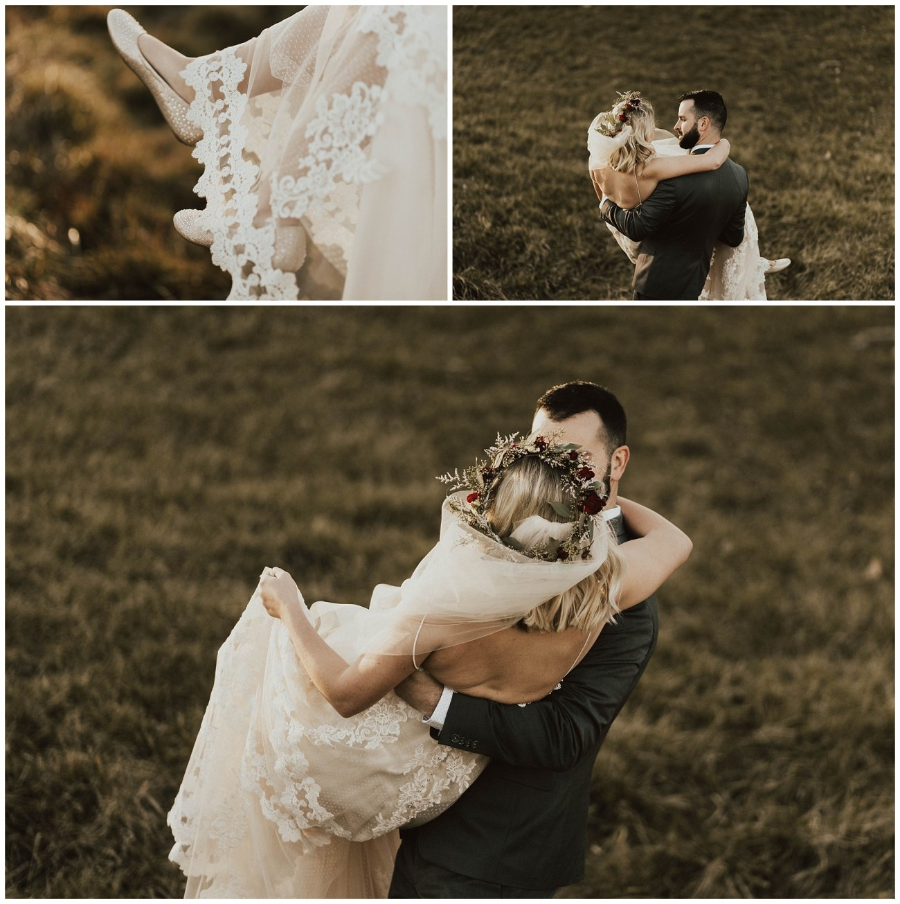 47048531e38 Hannah + Brian // Christmas Cabin Wedding - Lauren F.otography ...