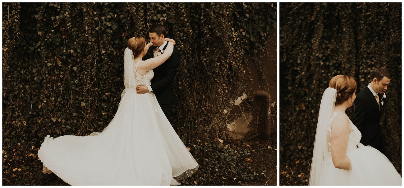f2c3b21c Johnny + Eliza // Classic Winter Wedding - Lauren F.otography ...