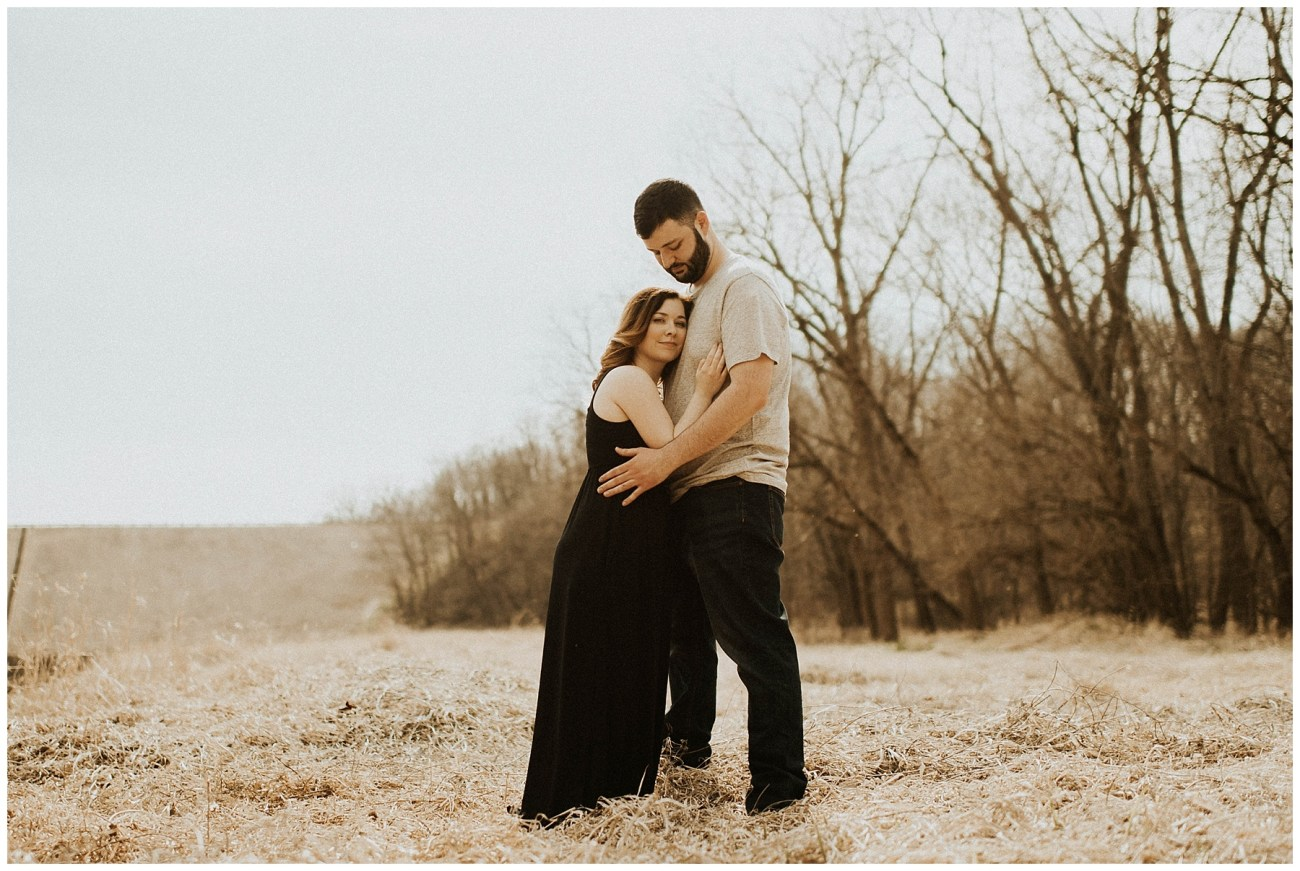 4eaa2117114e Charlie + Tiffany    Engagements in the woods – Lauren F.otography