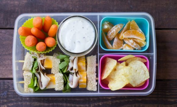 turkey sandwich lunchbox ideas