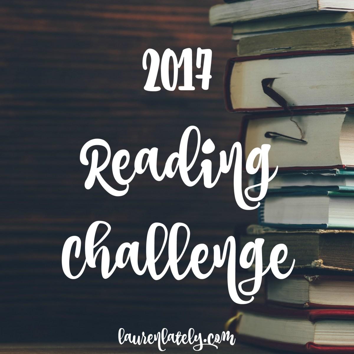 2017 Reading Challenge – update