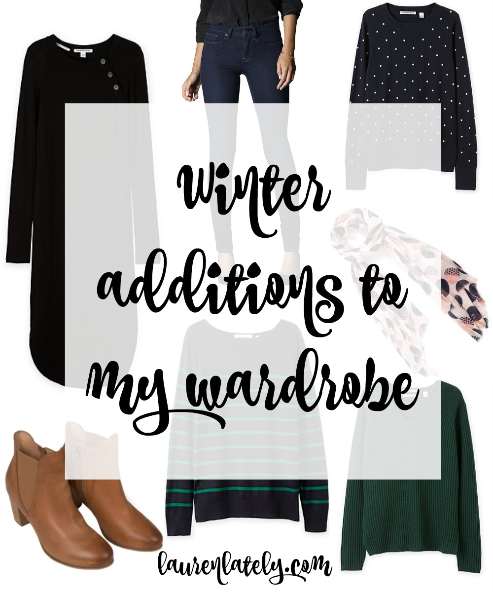 Winter additions to my wardrobe