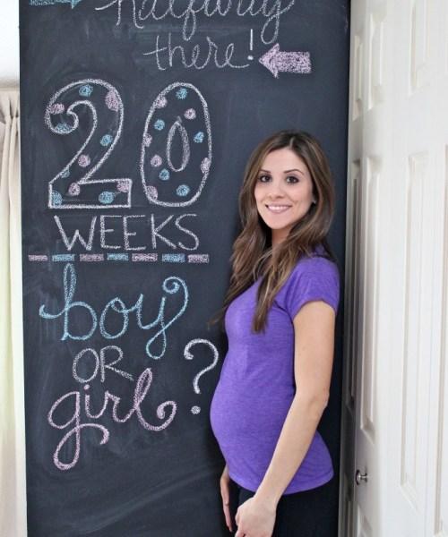 20 Weeks, Halfway There!