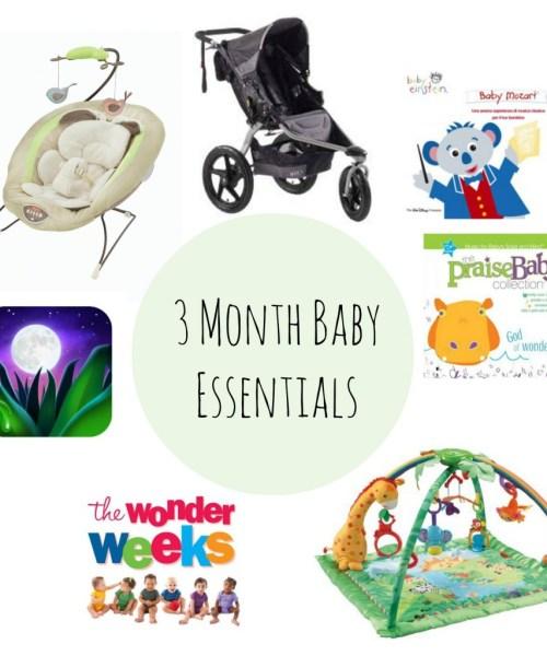 3 Month Baby Essentials