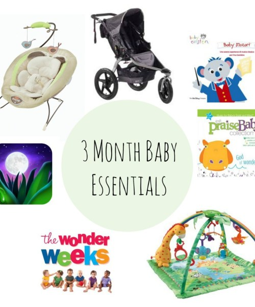 3 Month Baby Essentials
