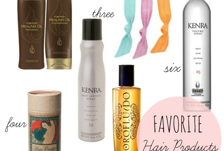 Favorite Hair Care Products