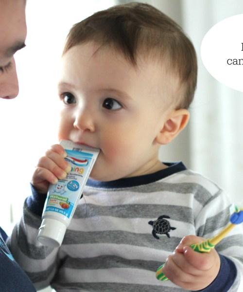 Make Brushing Fun: Helping Brush Baby's Teeth