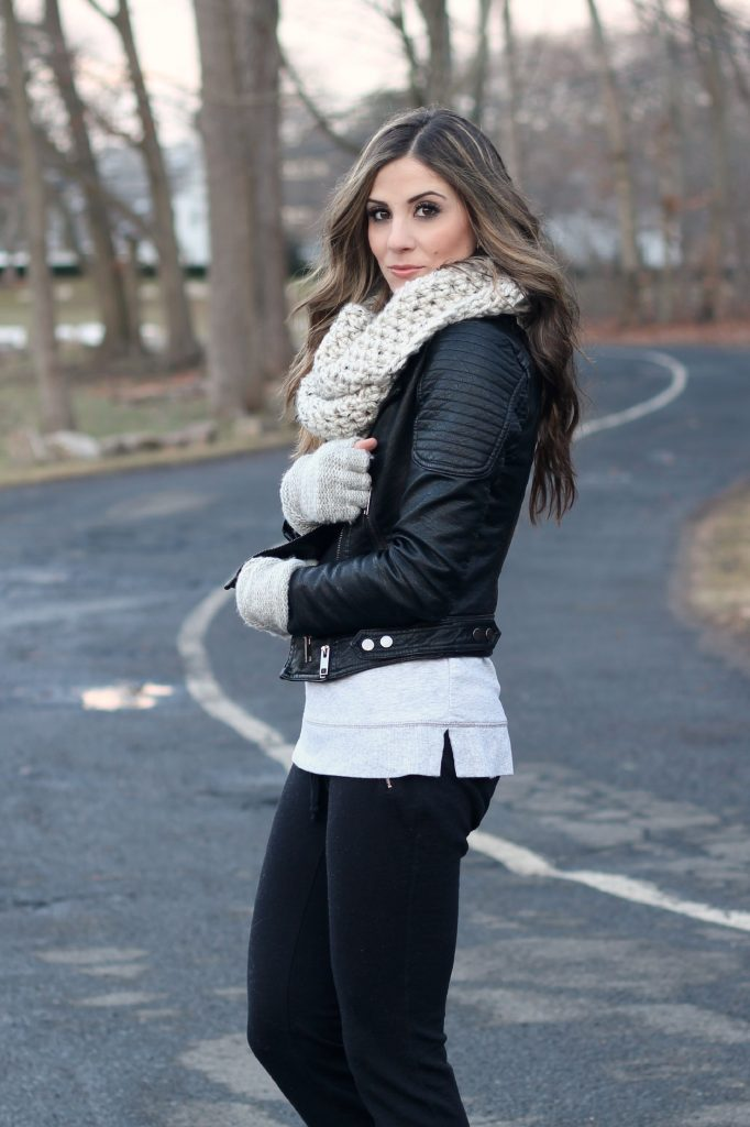Knits and Leather