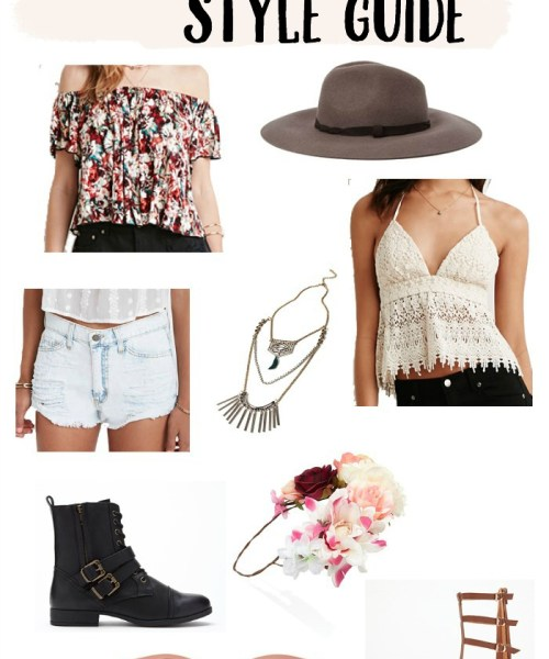 Festival Style Guide