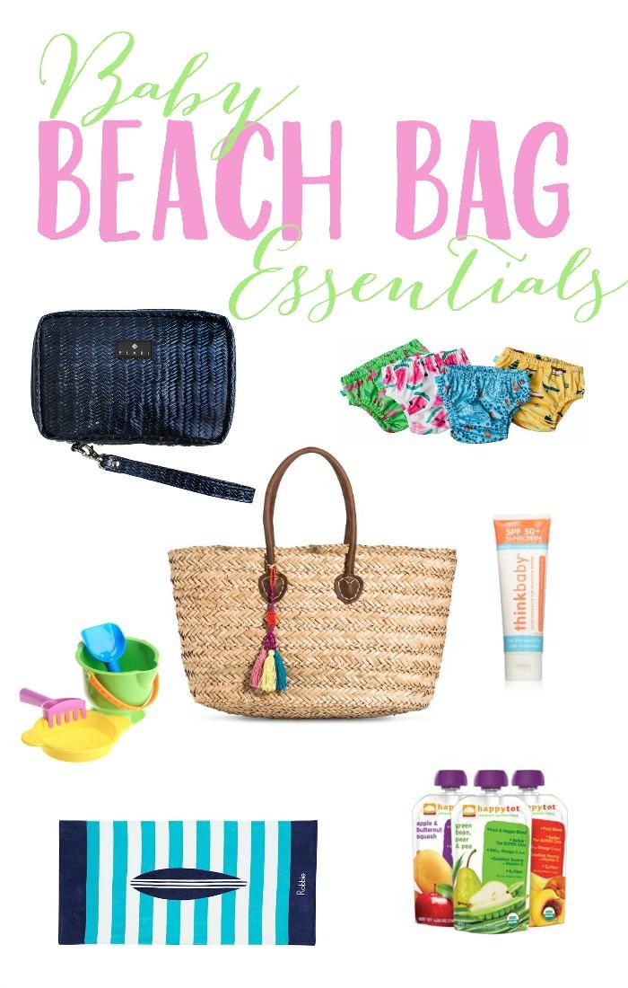 Baby Beach Bag Essentials - Lauren McBride