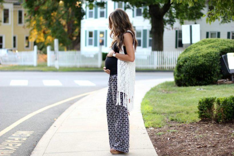 Bohemian Maternity Style