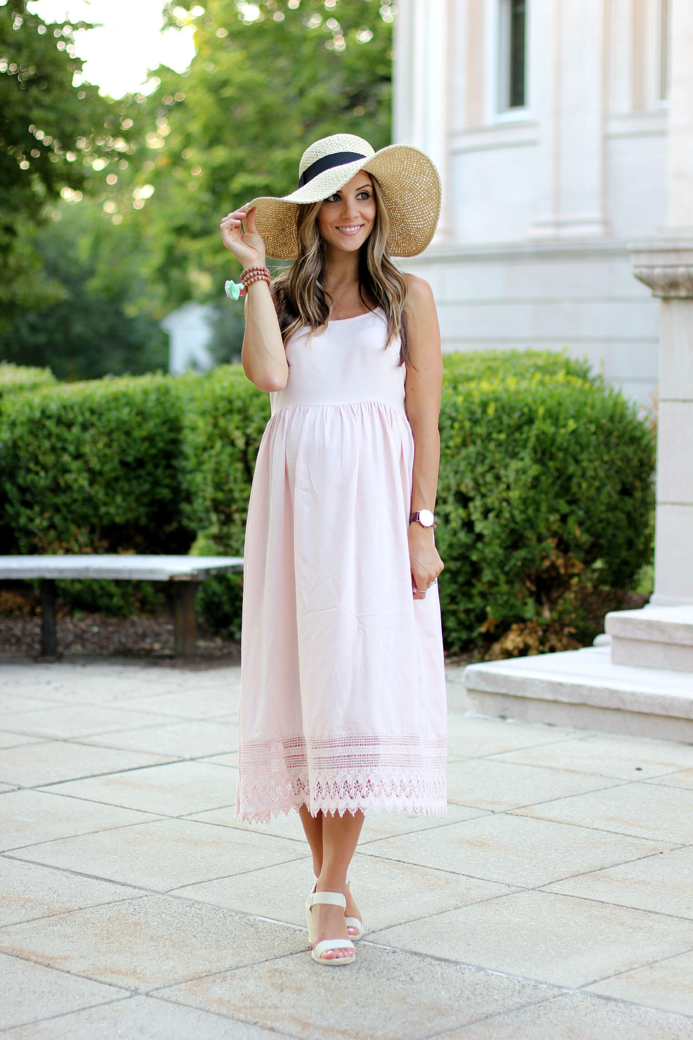 Maternity fashion pink crochet maxi dress lauren mcbride pink crochet 1 ombrellifo Images