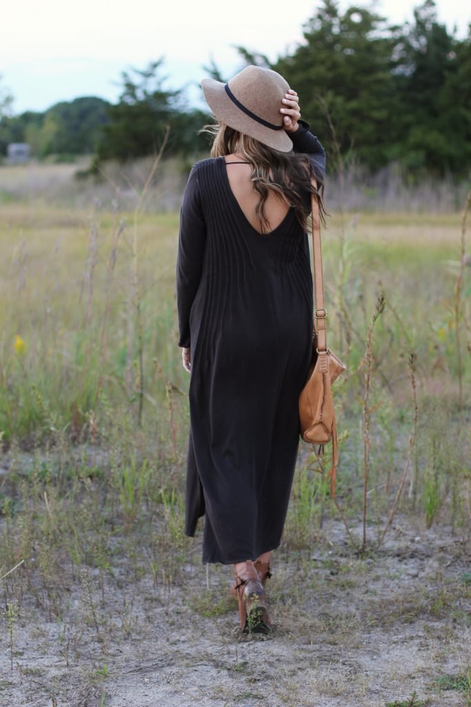 Free People Sophie Dress, Lauren McBride, Fall Maternity Style