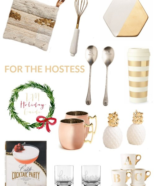 Holiday Gift Guide // For the Hostess