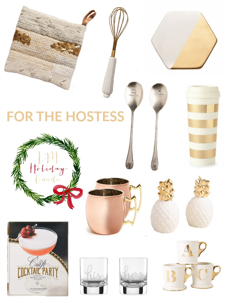 Holiday Gift Guide For The Hostess, Hostess Gift Ideas