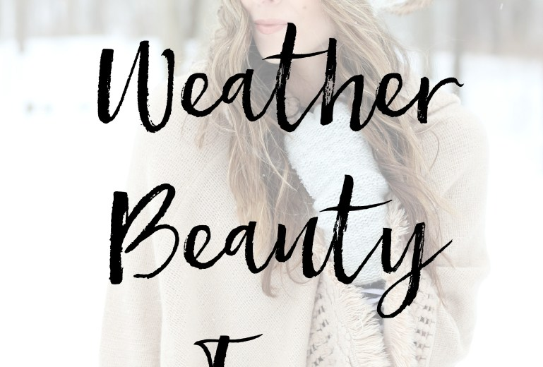 Cold Weather Beauty Tips