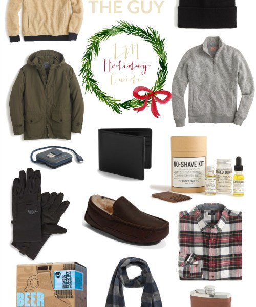 Holiday Gift Guide // For the Guy
