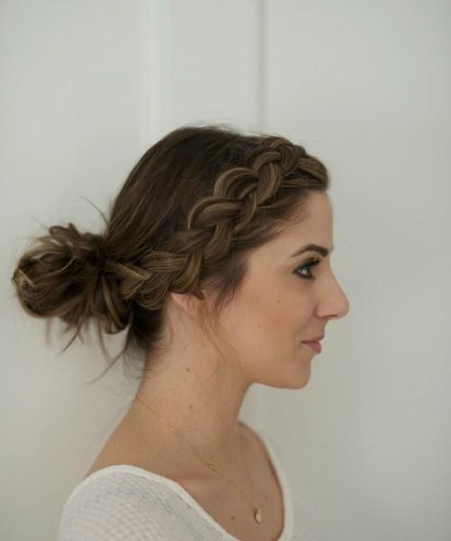 Beauty // Messy Braided Bun Tutorial
