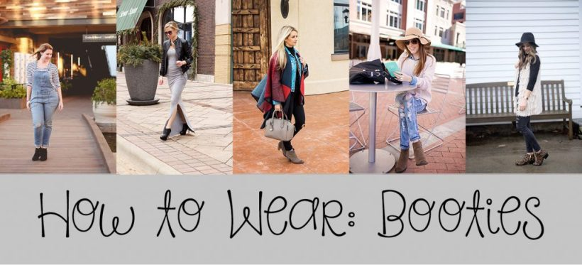 how to wear booties