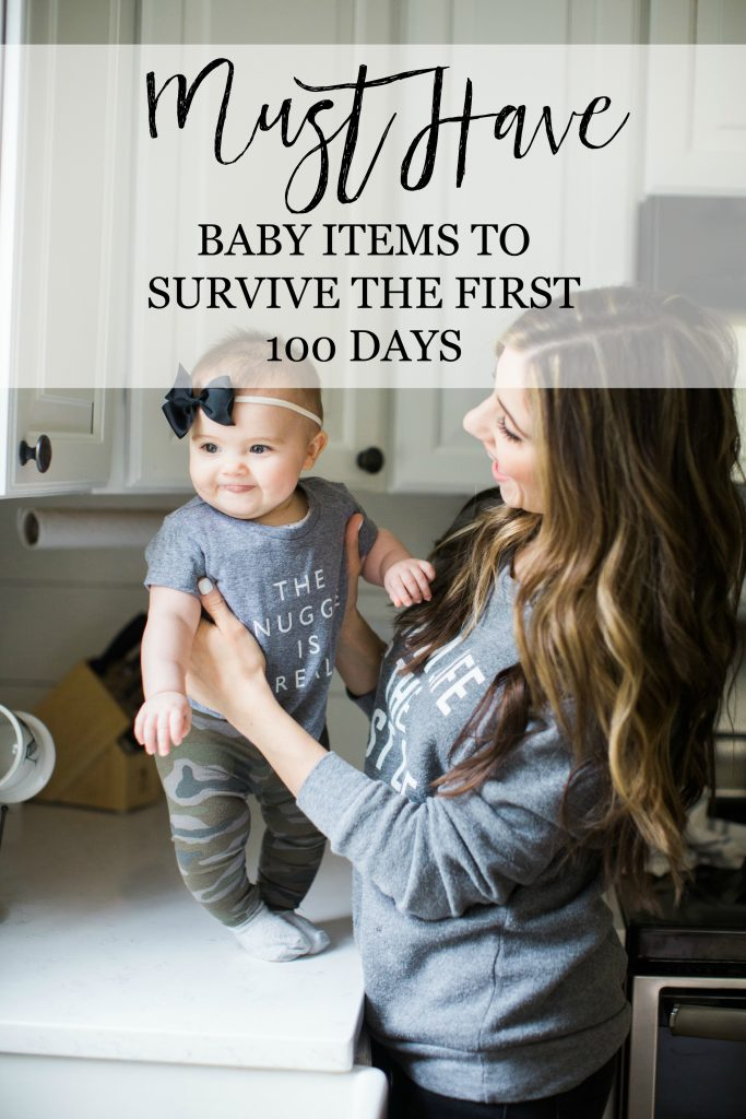 Newborn must haves to survive the first 100 days