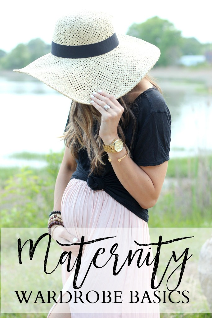 A quick guide on creating a maternity capsule wardrobe with basic pieces that will last you the full 9 months.