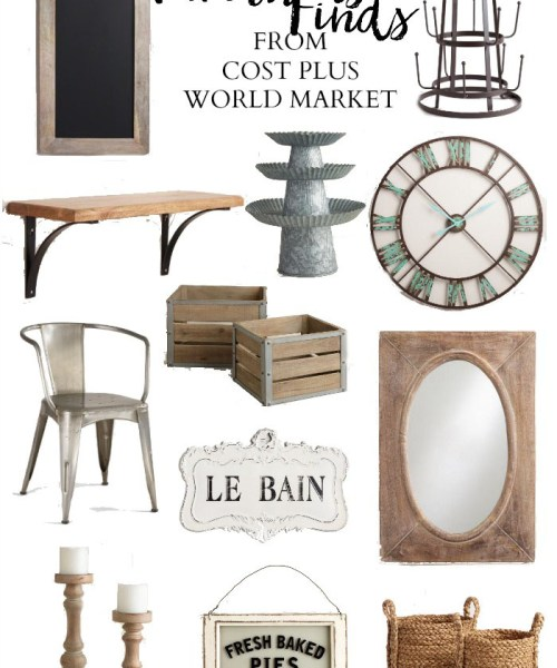 Home // Best Farmhouse Finds at World Market