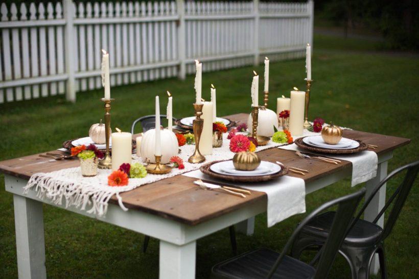 Tips for a Fall Farmhouse Tablescape