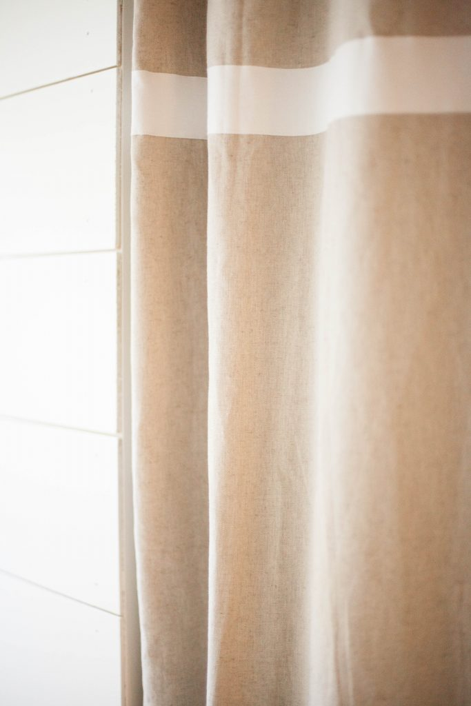 Linen shower curtain from World Market