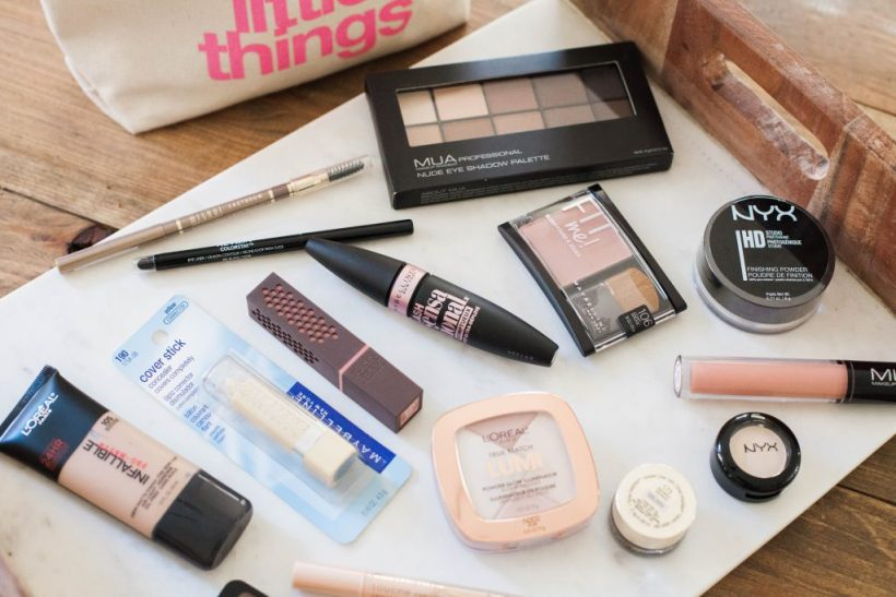 An easy, natural makeup look using all drugstore products found at CVS pharmacy.