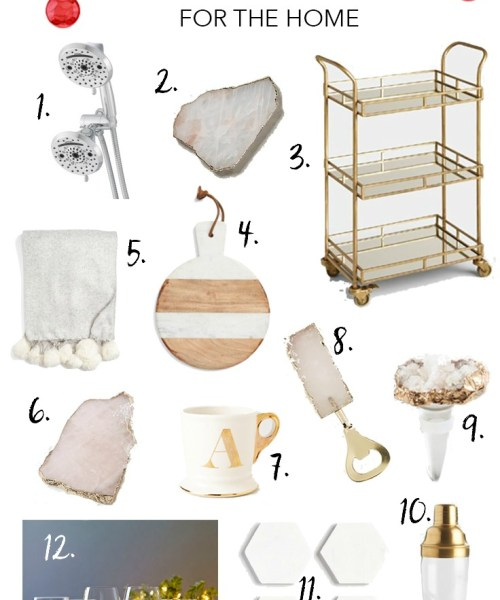 Holiday Gift Guide // Home