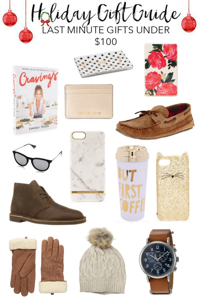 Last minute holiday gifts under $100