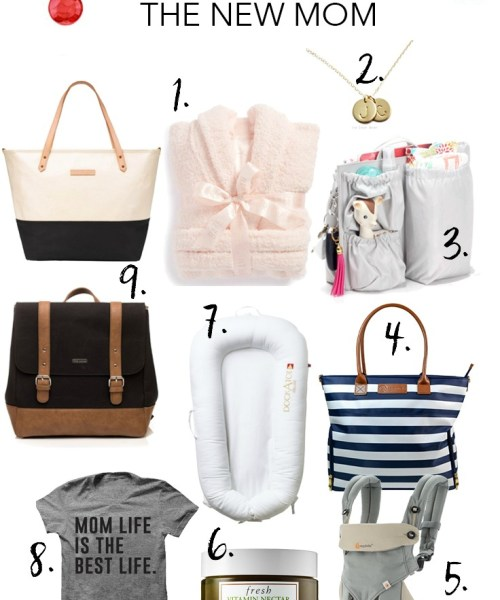 Holiday Gift Guide // For the New Mom