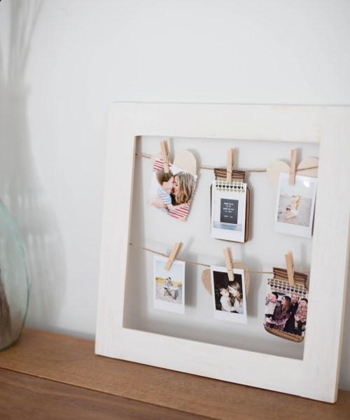 Home // DIY Photo Frame